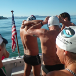 Night Train Swimmers Honor Navy SEALs